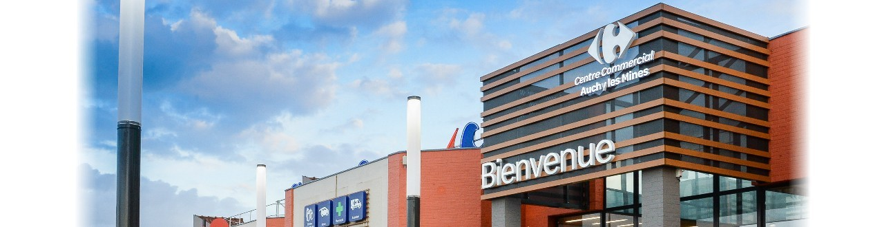 Centre commercial carrefour auchy les mines for Centre commercial porte d italie